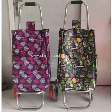 Shopping Trolley Wheeled Folding Luggage Bag Cart